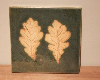 White Oak Green tile