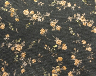 LIBERTY Of LONDON Rossmore Cord  'Elizabeth' Floral 100% Cotton Fabric