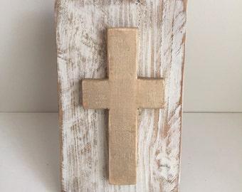 Wood Cross - Home Decor, Hostess Gift