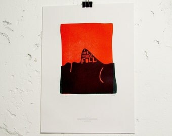 Limited Edition Denglish Letterpress Fine Art Print