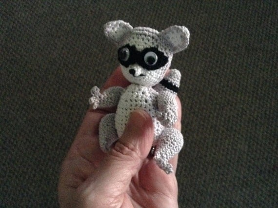 Crochet Baby Raccoon