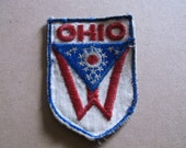 Vintage Ohio State Flag Patch
