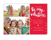 INSTANT DOWNLOAD  - Valentine Minis Photography Marketing board - Photoshop  template - E1260