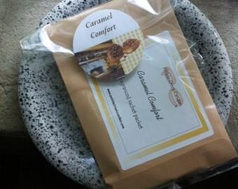 Envelope Sachet Caramel Comfort Scented Home Decor Gift for Women Homemade in USA Drawer Sachets Housewarming Favors