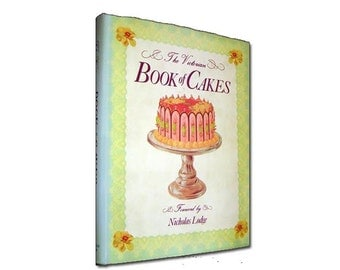 Vintage Victorian Book of Cakes (1991 reprint) by Nicholas Lodge