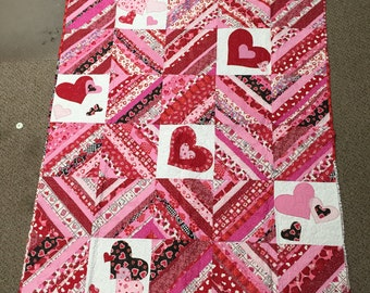 Crazy in Love Quilt