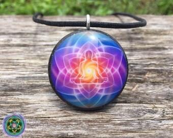 Orgone Tesla Pendant- featuring PUMAYANA -EMF Blocker - Chakra Balancing - FREE Necklace - Hand Made