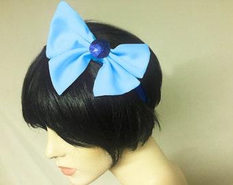 Sailor Mercury Bow Headband