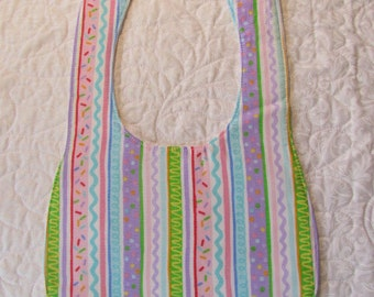 Party Confetti Baby Bib Drooler - Marked Down