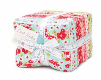 Little Ruby Fat Quarter Bundle by Bonnie and Camille - Moda