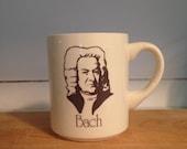 Vintage USA Musician Bach Mug