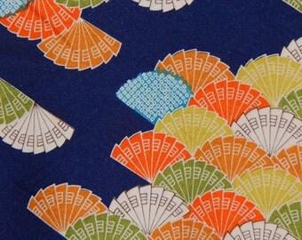 Women's Silk Komon - Fan Pattern (WKBL1-TC7 2516 BK)