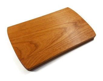 Alder Wood Cutting Board 13 x 8 in.  Oregon Harvested Alder Wood.  Alder Wood Cheese Board.  Alder Wood Serving Board.  Hardwood Bread Board