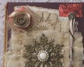 CHRISTMAS COLLAGE #2---Merry Christmas---Mixed Media Collage___Altered  Art