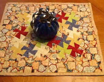 Pieced and quilted Table centerpiece