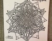 The Happy Recharging (!) Colouring Book