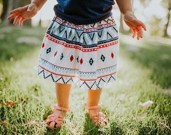 "Swanky Shank Big Girls Skirt ""Young & Free"""