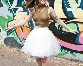 Mollie - Custom Handmade Tulle Skirt