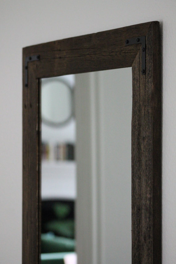 24 X 36 Mirror Part - 30: Rustic Wall Mirror - Large Wall Mirror - 24 X 36 Vanity Mirror - Bathroom  Mirror - Rustic Mirror - Reclaimed Wood Mirror - Bathroom Vanity