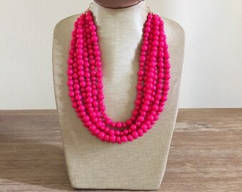 The Prettiest Pink Necklace