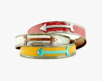 """1/2"""" Wide Arrow Bracelet"""