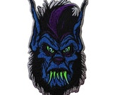 Wicked Werewolf Patch Kreepsville Dark Monster Craft Apparel Iron-On Applique