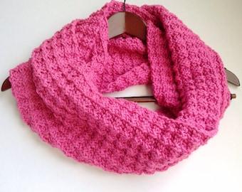 Baby It's Cold Outside Cowl Pattern, Large Knit Scarf Pattern, Beginner Knit Pattern, Autumn Scarf Pattern, Waffle Stitch Pattern