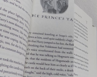 Harry Potter and The Deathly Hallows Chapter Thirty-three Bookmark- HPDH33