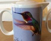 Anna's Hummingbird Teapot