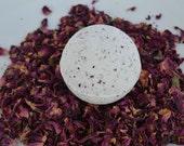 Bergamot Rose Bath Bomb, Spa bath, Bath and Body, all natural bath fizz, Vegan friendly bath, Rose petals, eco friendly