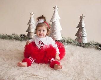 CANDY CANE OUTFIT, Tutu Set, Christmas Photo Prop, 4 pc set, Christmas Tutu Set, Christmas Photo Prop, Candy Cane Baby, Baby 1st  Christmas