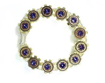 Steampunk Gear link Bracelet