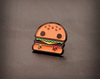 Burger Boy - Enamel Pin