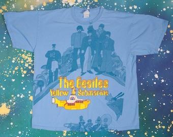 The BEATLES Yellow Submarine T-Shirt Size XL