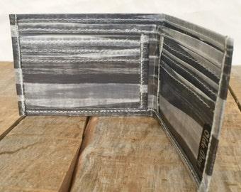 Cuben Fiber, Carbon Fiber, Blended sailcloth wallet, recycled sail billfold, eco wallet
