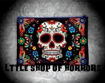 S A L E Fiesta Skull Cosmetic Bag