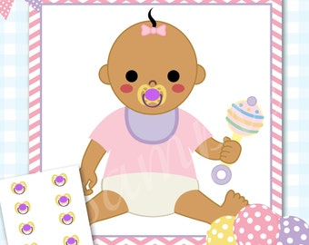 Pin The Pacifier Baby Shower Game, Pacifier Baby Shower Games, Pacifier  Shower Game,