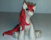 Polymer clay pony