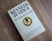 60% OFF First Edition of Kennedy Justice by Victor Navasky with Dust Cover