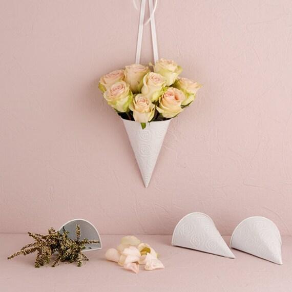 Wedding Aisle Flower Cones Pew Cones Wedding Decorations Flower Holders Ch