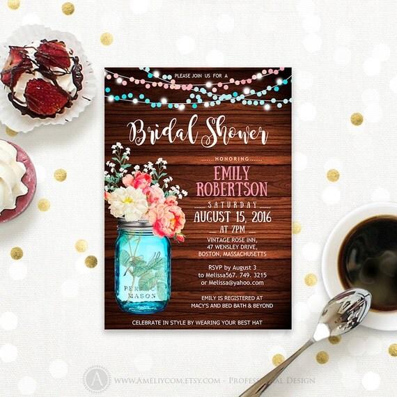 ... Bridal Brunch, Bridal Tea Party Invite INSTANT DOWNLOAD Editable