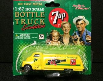 7up Bottle Truck Evolution 1945 Delivery Truck
