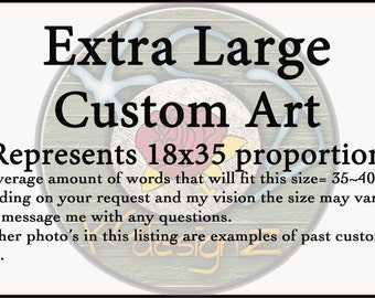 Extra Large~18x35~Custom~Mixed Media~Wall Art~Anniversary for Him~Anniversary for Her~Wood Wall Art~Gifts for Him~Gifts for Her~KCdesignZ