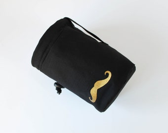 The Gold Stache - Rock Climbing Chalk Bag