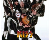 "KISS Band KISS Collectibles KISS ""White Room"" Stand-Up Display - Kiss Army Gift Idea Kiss Room Kiss Poster Memorabilia Retro kiss76"