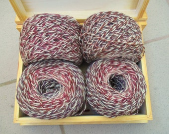 350 g 100% Wool  mix yarn for hand  knitting