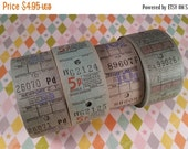 HUGE SALE 2 Dozen Vintage Bus Tickets | Blue and Green Travel Tickets | LAST Ones