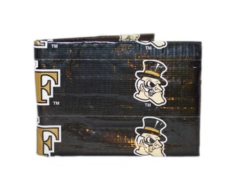 Wake Forest Duct Tape Wallet