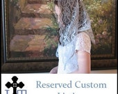 Reserved Custom Listing for Melissa