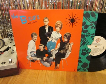 The B-52's - Wild Planet - 1980 - w/ Printed Inner Sleeve - New Wave Masterpiece - Private Idaho